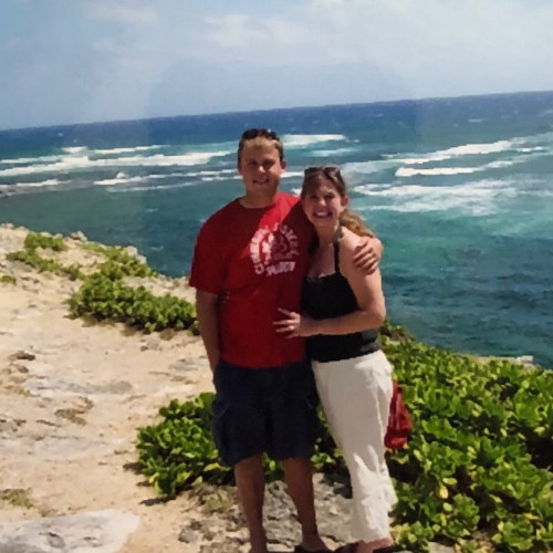 Amy and Spencer Vacay photo