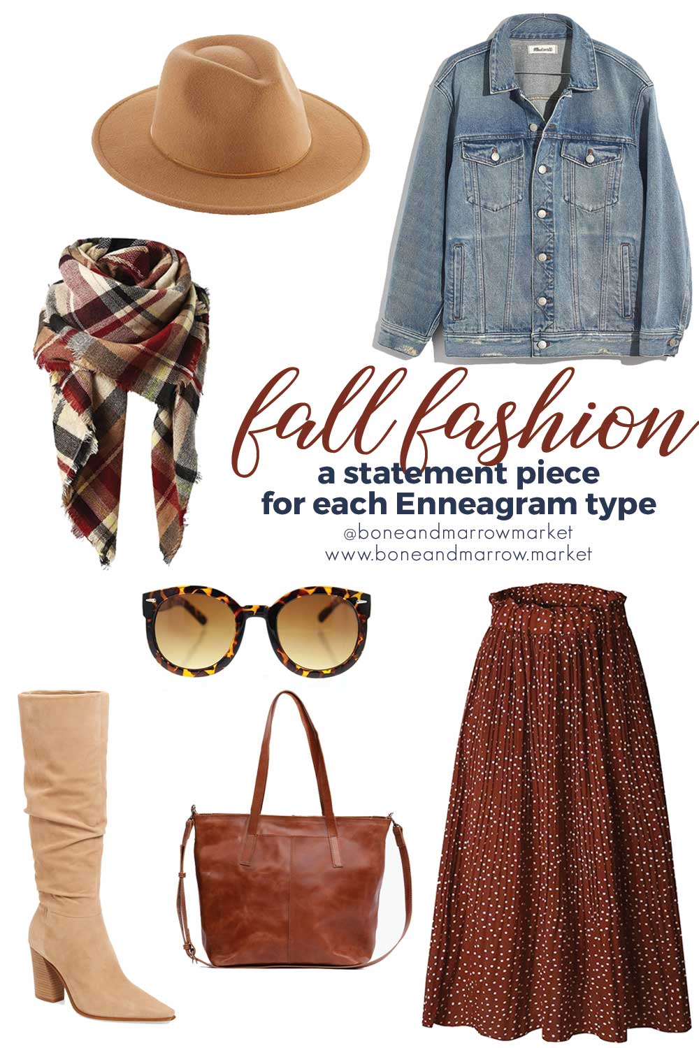 Fall Fashion Statement Piece for Each Enneagram Type