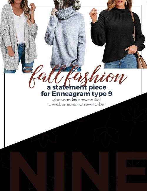 Fall Fashion for Enneagram Type 9