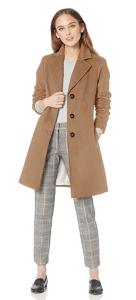 Classic Cashmere Wool Blend Coat