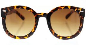 Oversized round circle sunglasses