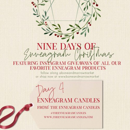 Enneagram Candles | 9 Days of Enneagram Christmas