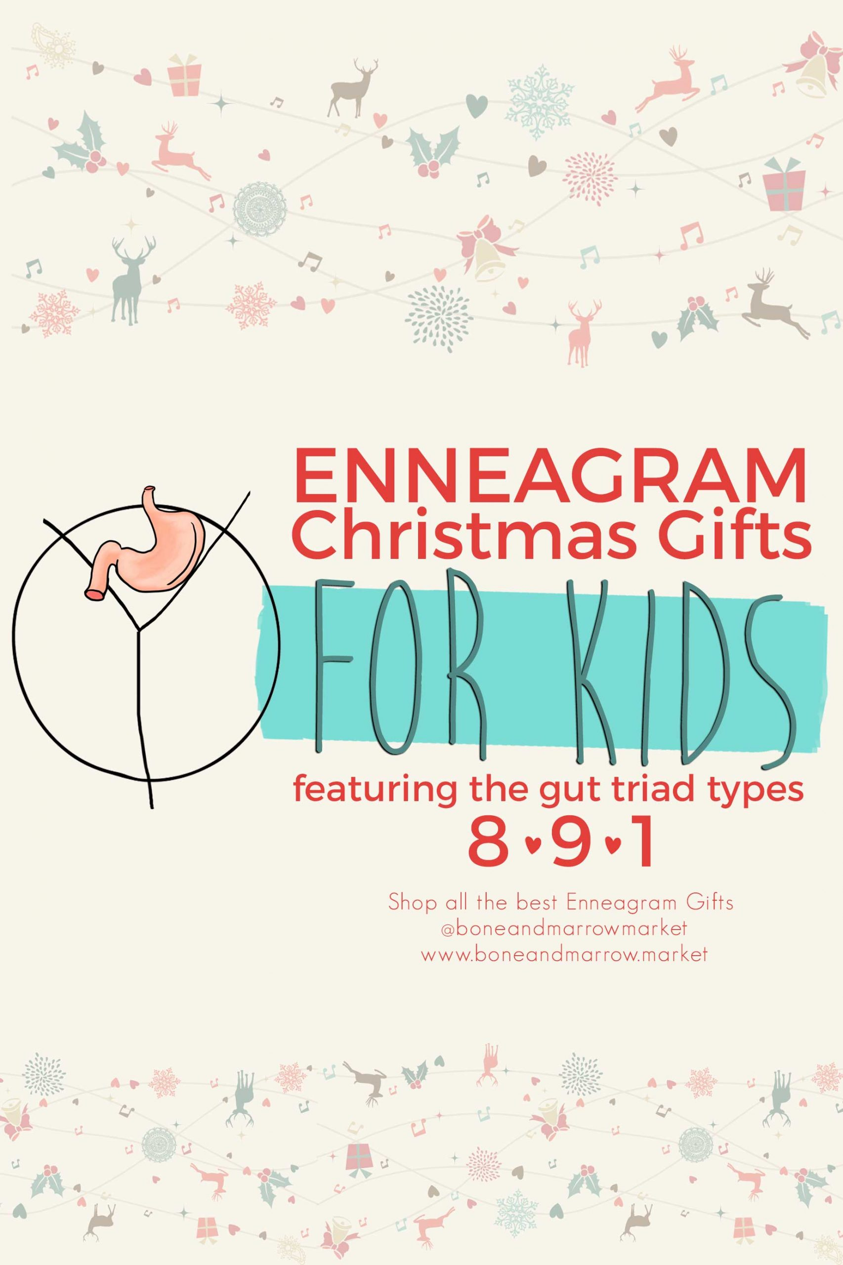 Christmas Enneagram Gifts for Kids | Gut Triad