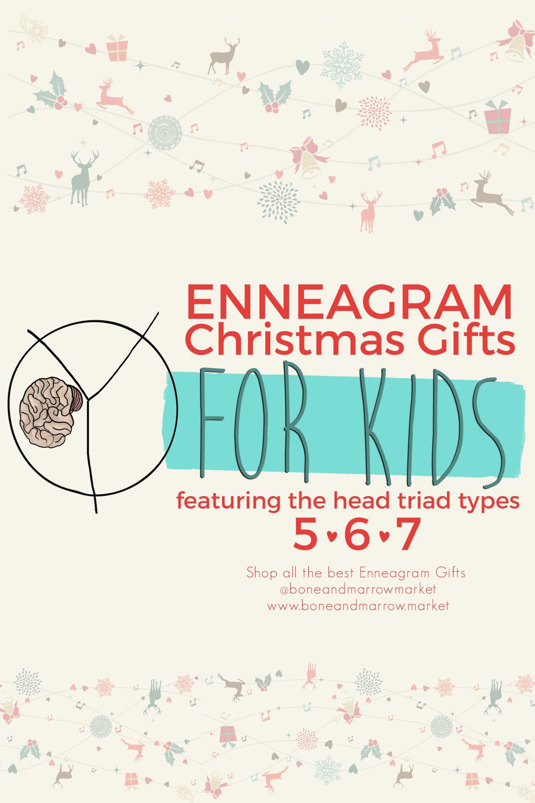 Christmas Enneagram Gifts for Kids | Head Triad