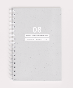 Enneagram 8 Guided Planner