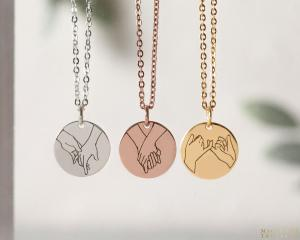 Hand Gesture Necklace