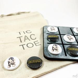 Custom Name and Theme Tic Tac Toe Set