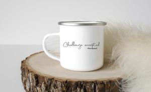 8: Challenge accepted camp mug