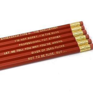 Enneagram 8 Pencils