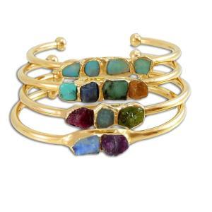 Raw Birthstone Bracelet