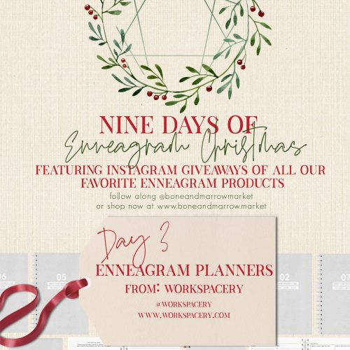 Enneagram Planners by Workspacery | 9 Days of Enneagram Christmas