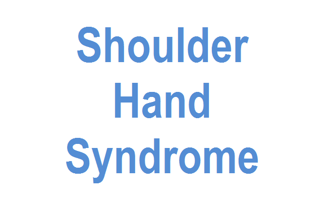 shoulder-hand-syndrome