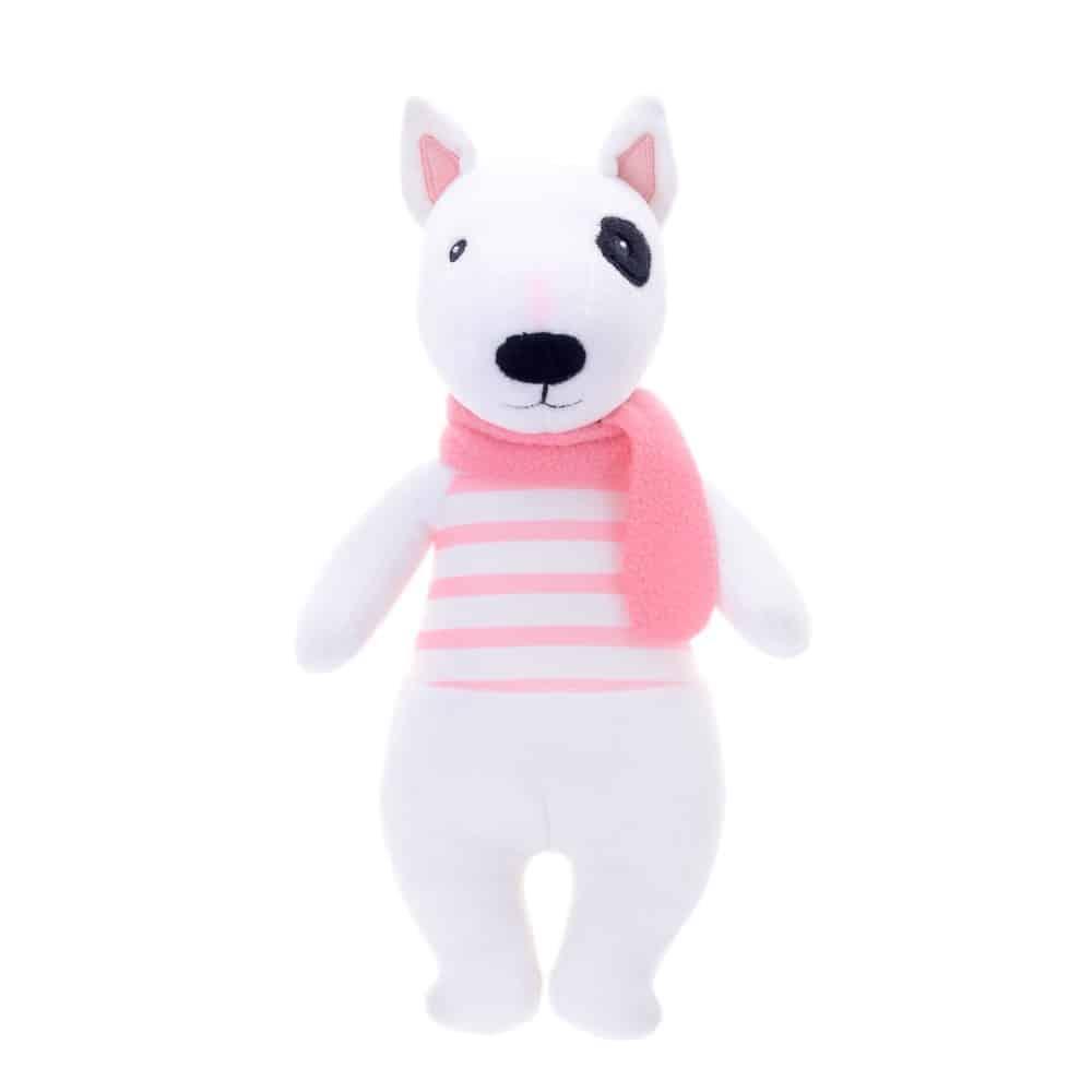 bull terrier - pink 1