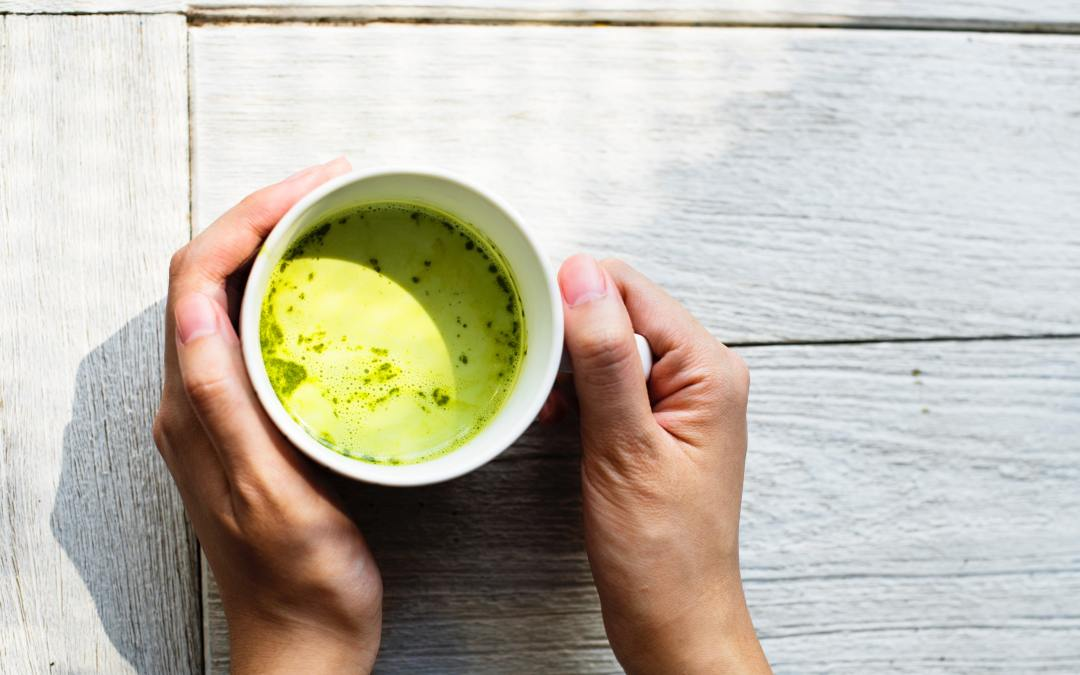 Bone Broth Matcha Latte