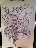 tattoo flash work in progess