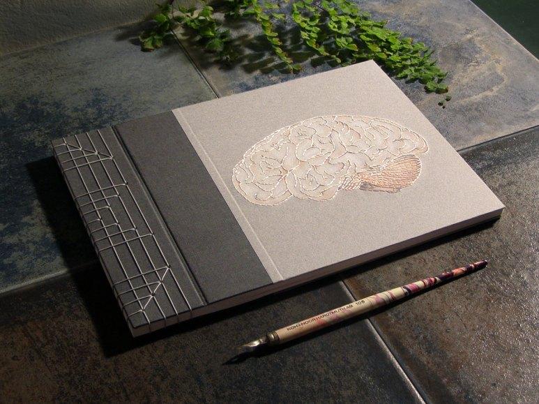 2014.10.22 - 20 - Блокнот с японским переплётом - Fabulous Cat Papers