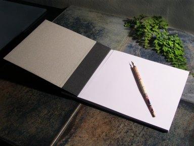 2014.10.22 - 21 - Разворот блокнота с японским переплётом - Fabulous Cat Papers