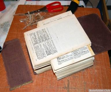 Мастер-класс по ремонту и азам реставрации книг - ремонт книжных блоков