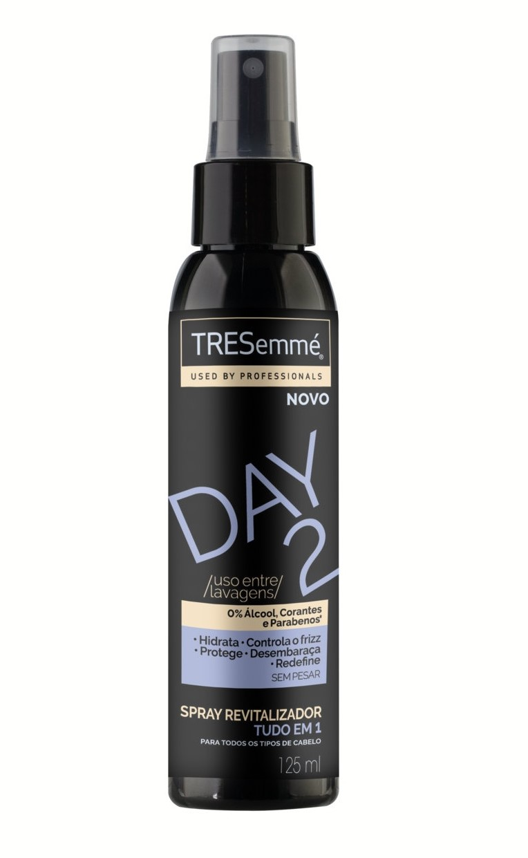 Day 2 TRESemme spray revitalizador