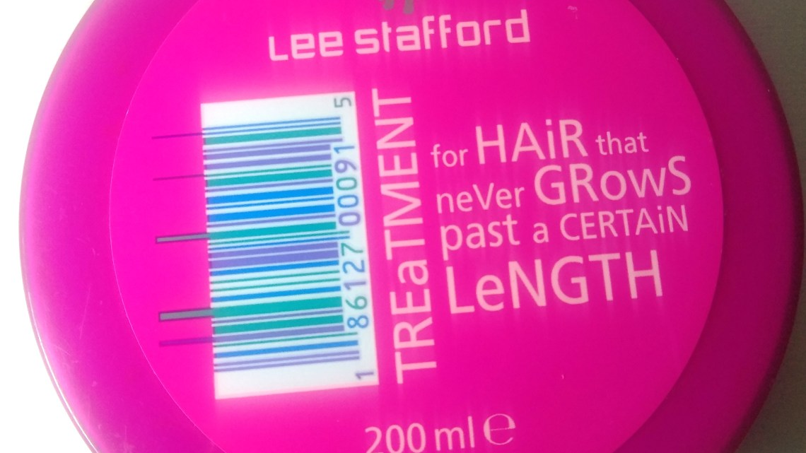 Lee Stafford Hair Growth – máscara