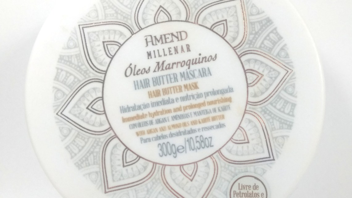 Amend Millenar Óleos Marroquinos Hair Butter