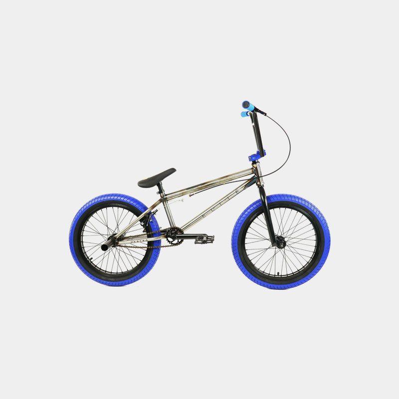 Elite BMX Bike Destro Raw Steel