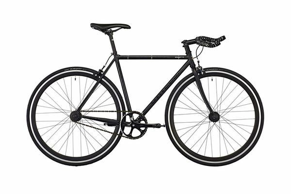 Gazzetta Fixed Gear/Free Wheel Bike - Black (51cm only)