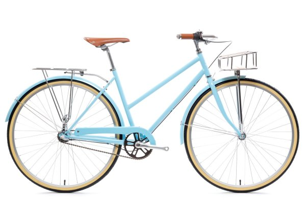 3 speed state bicycle co city bike azure blue 4