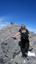 Jill nears the summit