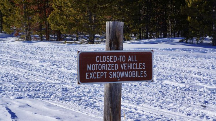 Trailside Sign