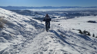 We started the year with some fat biking to get ready for the Fat Pursuit