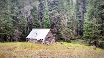 Cabin on South Fork Indian Creek