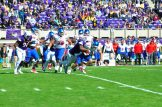 Fred Presley sacks SMU quarterback Ben Hicks on the first possession of the game. (W.A. Myatt photo)