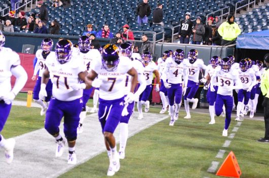 The Pirates enter Lincoln Financial Field for a Saturday night matchup with Temple. (Al Myatt photo)