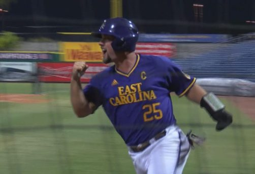 AAC Tournament | ECU vs. USF | Still #2 by Brian Bailey (May 25, 2017 | Clearwater, FL)