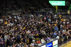 The Minges Maniacs were out in full force to see the Pirates take on No. 5 Wichita State.