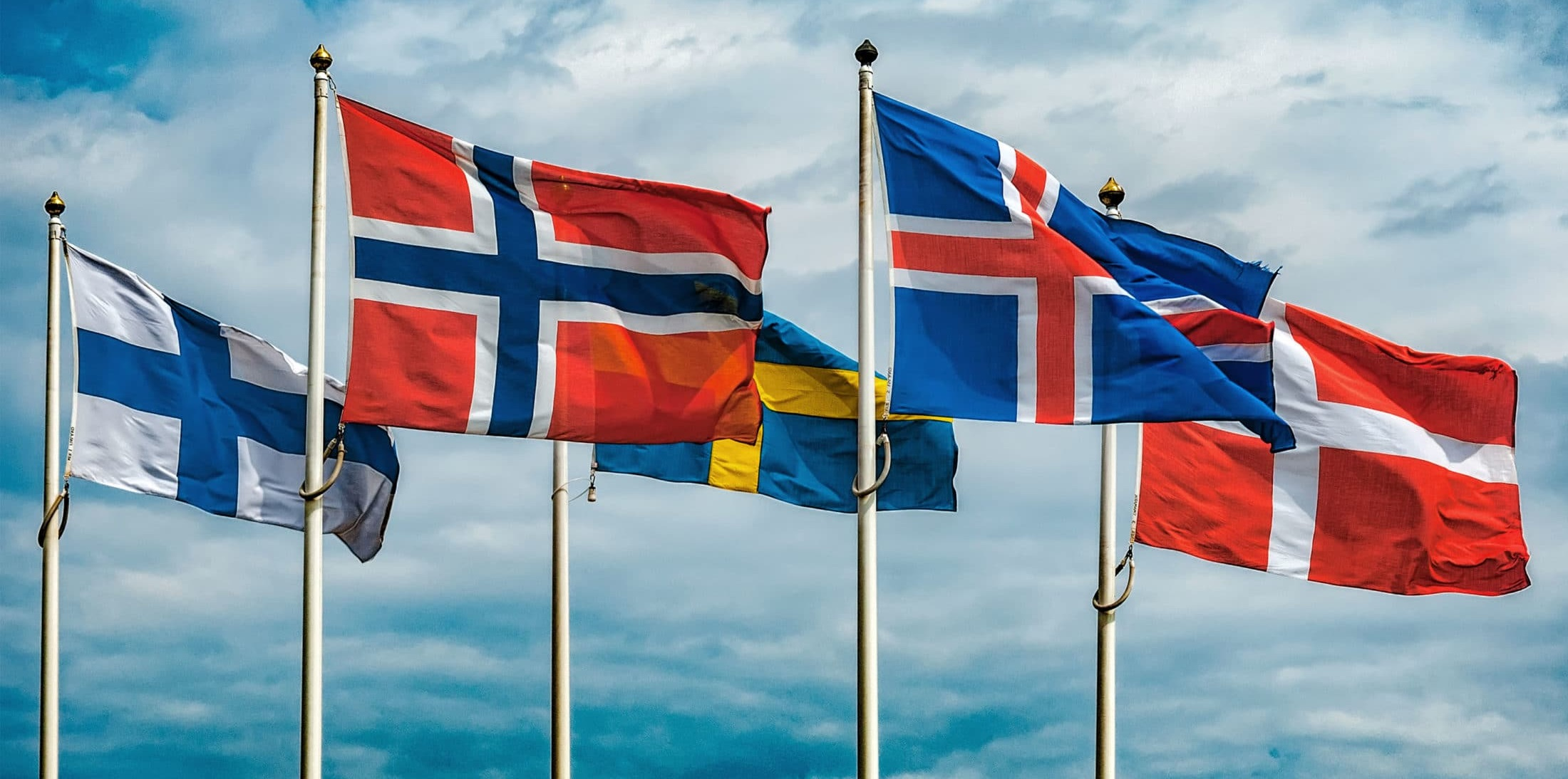 Almost full house in Scandinavia