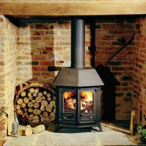 Charnwood Country 12 Woodburning Stove black