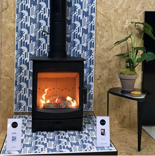charnwood aire woodburner 1