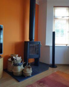 Contura 54 Wood Burning Stove Installation