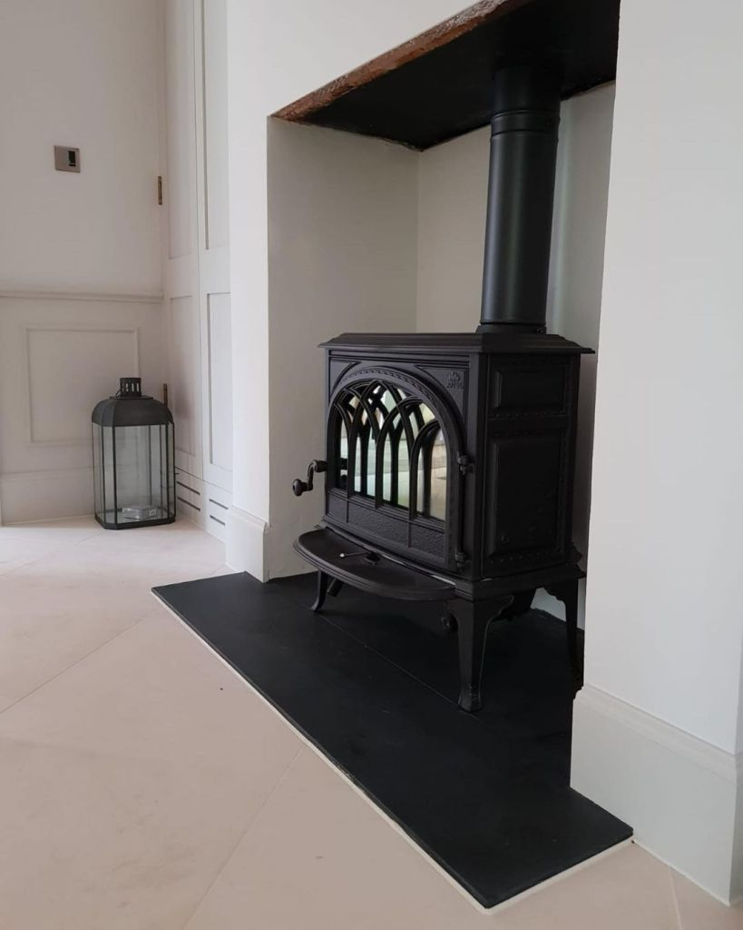 Jotul F400 Wood Burning Stove Installation