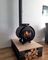 Bullerjan Free Flow Wood Burning Stove Installation