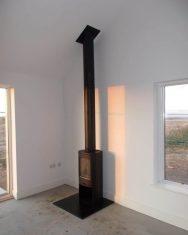 Contura 810 Wood Burning Stove Installation