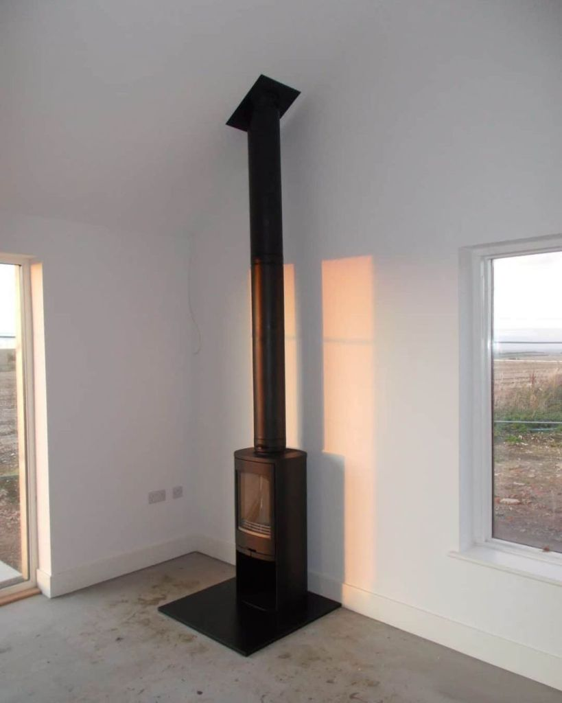 Contura 810 Wood Burning Stove Installation