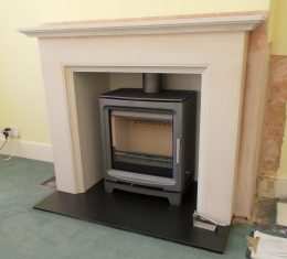 Purevision Aylesbury PV5W Wood Burning Stove Installation