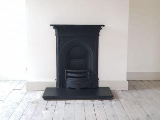 Bespoke Reclaimed Open Fire Installation