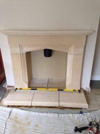 FDC Sandstone Surround Fireplace