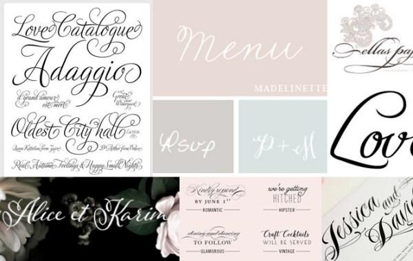 free wedding fonts # 16