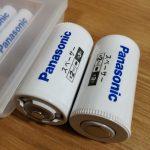 パナソニック 単3形充電池用 サイズ変換スペーサー