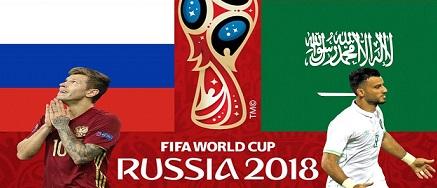 Nhận định Nga vs Saudi Arabia
